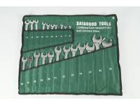 Набор инструментов  22 предмета (ключи р/накидные 6-32мм) сумка